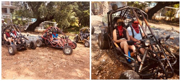 Roatan 4×4 Off-Road Dune Buggy Adventure and Beach Break